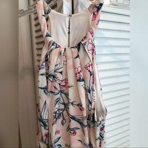 Express Dresses - Pink Floral Dress